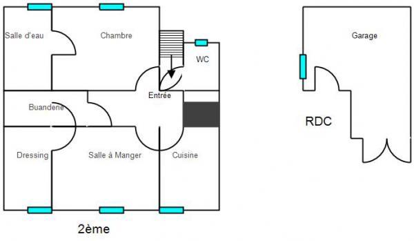Plan Appartement Pontarlier
