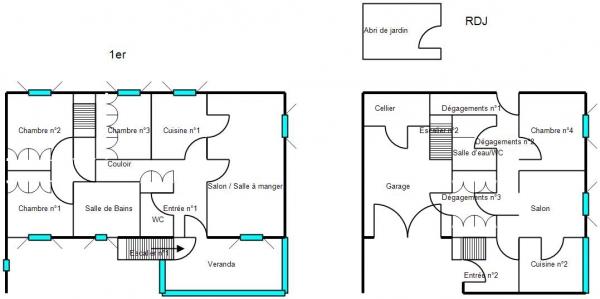 Plan Maison Houtaud