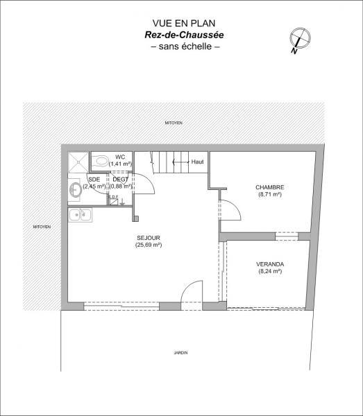 plan de maison 2 pièces gratuit