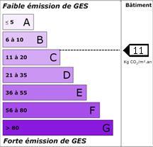 GES Maison F4 de 91 m² ST VINCENT SUR JARD