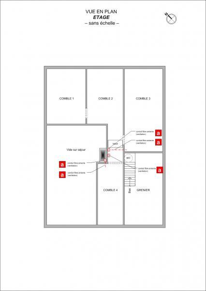 Plan Maison F4  Saint-Hilaire-de-Riez
