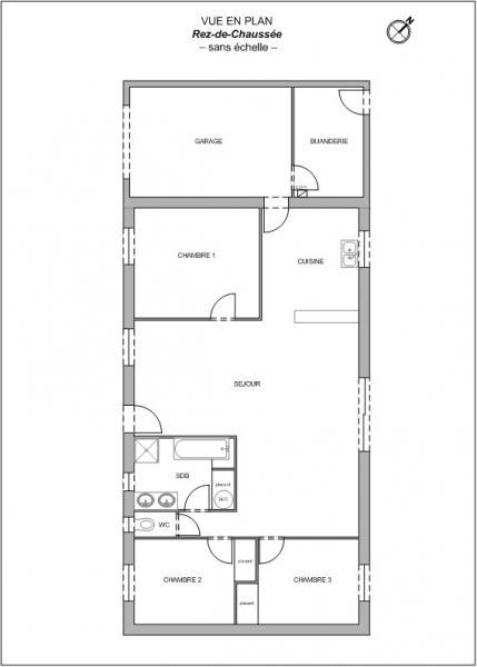 Plan Maison F4 Saint-Hilaire-de-Loulay