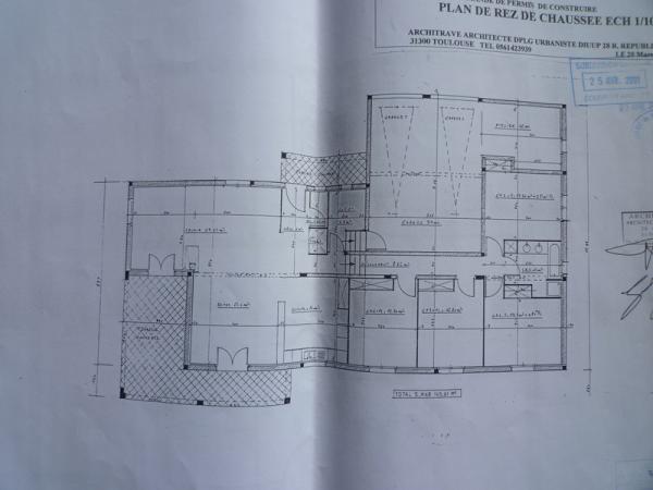 Plan Maison Saint-Michel-de-Lanès