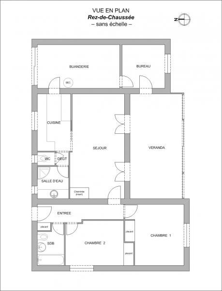 Plan Maison F4 Talmont-Saint-Hilaire