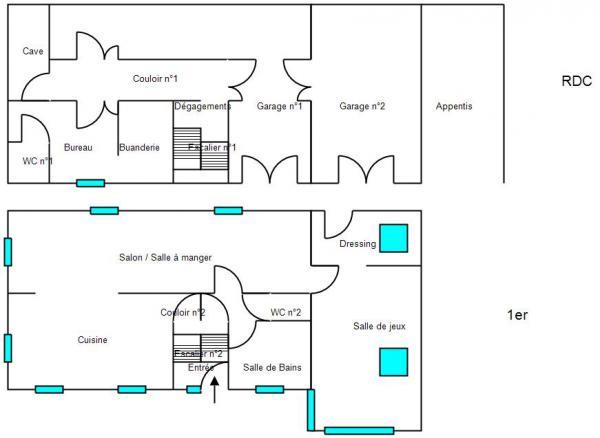 Plan Maison Montflovin