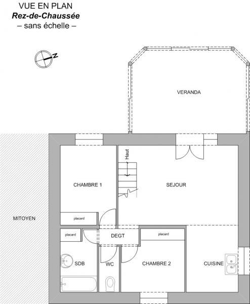 Plan Maison F4 LA TRANCHE SUR MER
