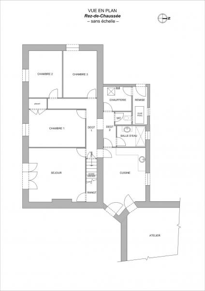 Plan Maison F4 BEAUFOU