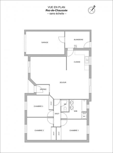 Plan Maison F4 SALIGNY