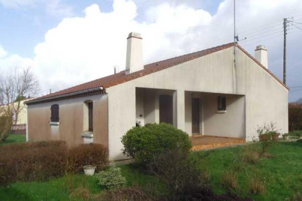 Plan Maison F3 Beaulieu sous La Roche