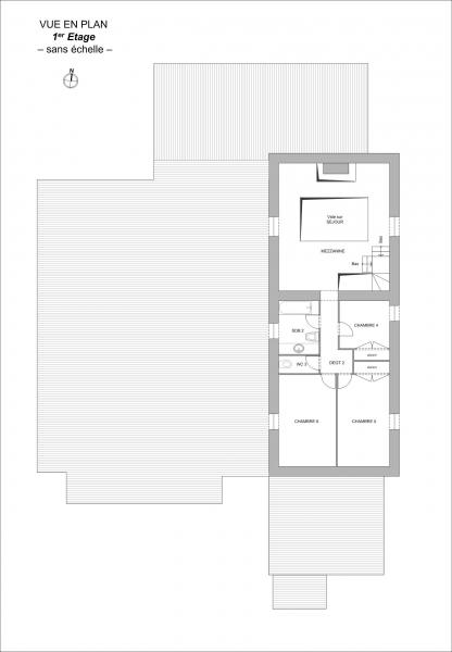 Plan Maison 394 m² St Denis la Chevasse