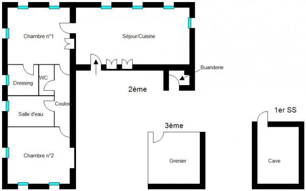 Plan Maison VILLERS-LE-LAC