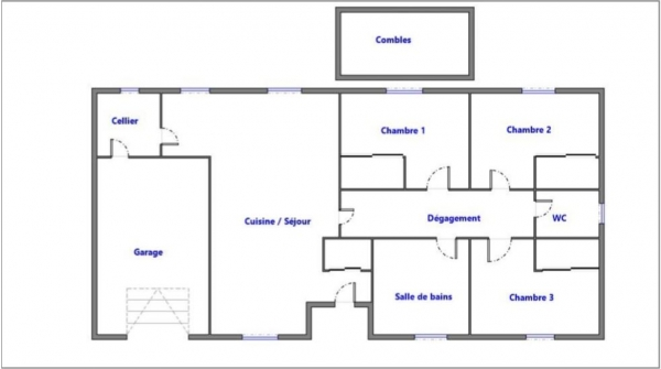 Plan Maison MONTAUBAN