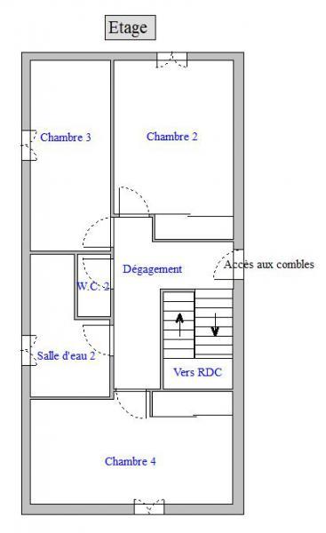 Plan Maison Saint-Denis-en-Bugey