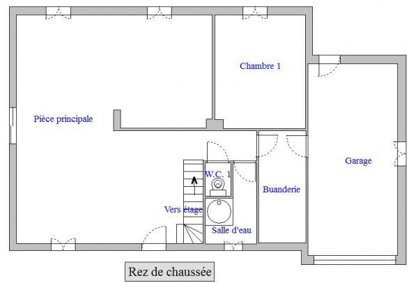 Plan Maison Pont-d'Ain